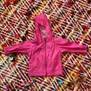 Excellent condition Columbia Pink rain jacket. 2T